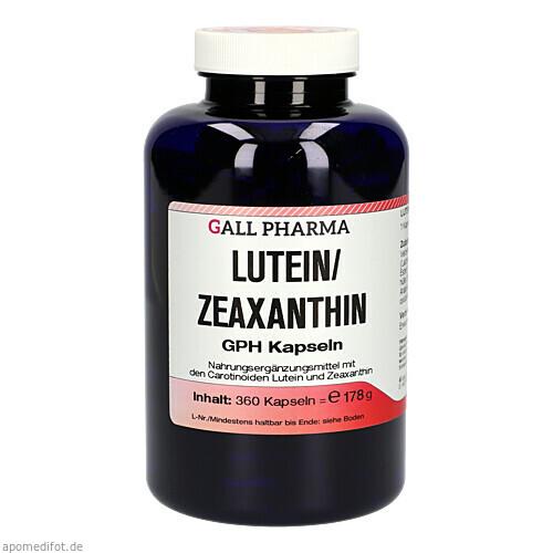 Lutein/Zeaxanthin GPH Kapseln, 360 ST, Hecht-Pharma GmbH