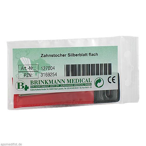 ZAHNSTOCHER SILBER BRI, 1 ST, Brinkmann Medical Ein Unternehmen der Dr. Junghans Medical GmbH