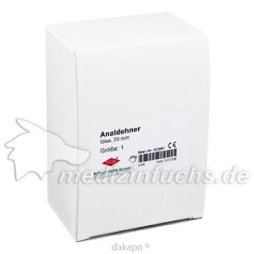 ANALDEHNER FRA GL GR1 20MM, 1 ST, Büttner-Frank GmbH