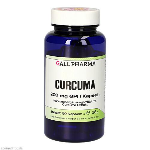 Curcuma 200mg Kapseln, 90 ST, Hecht-Pharma GmbH