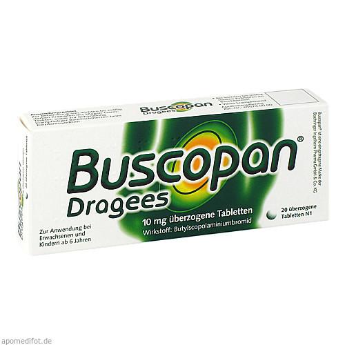 BUSCOPAN, 20 ST, Emra-Med Arzneimittel GmbH