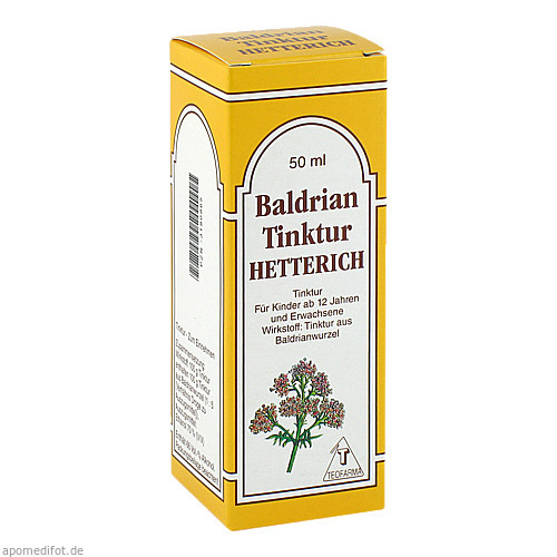 BALDRIANTINKTUR HETTERICH, 50 ML, Teofarma S.R.L.