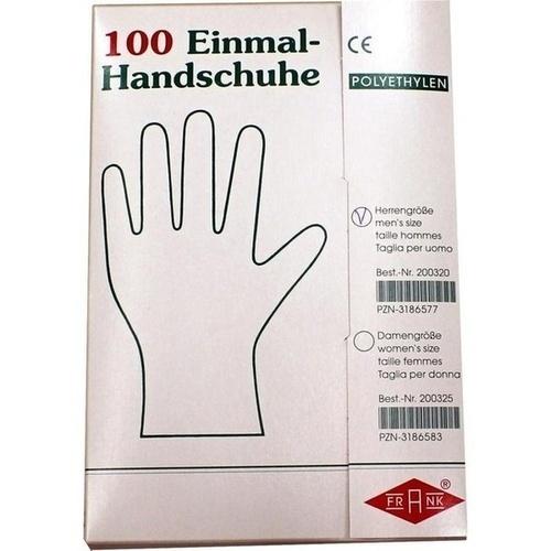 OP HANDSCH POLYAETH HERREN, 100 ST, Büttner-Frank GmbH