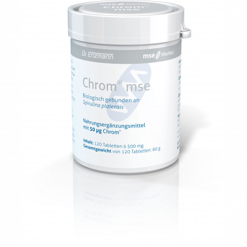 CHROM III MSE 50ug, 120 ST, Mse Pharmazeutika GmbH
