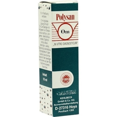 POLYSAN TYP OM KOLL LS D 9, 10 ML, Sanum-Kehlbeck GmbH & Co. KG