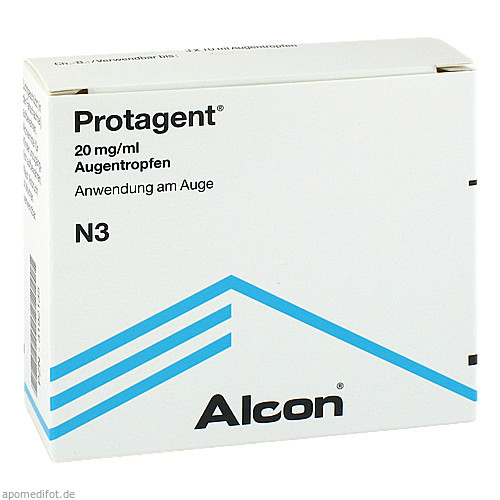 PROTAGENT, 3X10 ML, Alcon Pharma GmbH