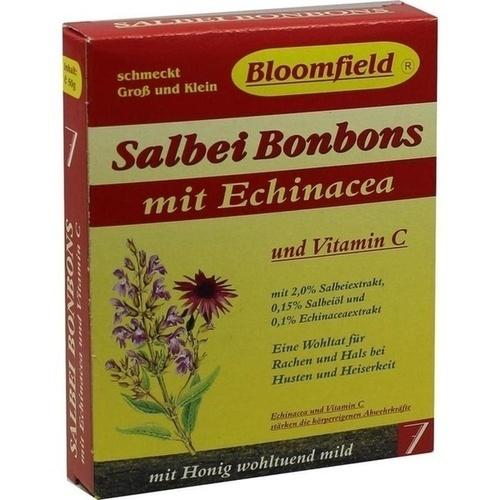 Bloomfield Salbei-Bonbons mit Echinacea, 50 G, Otc Siebenhandl GmbH