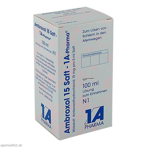 Ambroxol 15 Saft-1A Pharma, 100 ML, 1 A Pharma GmbH
