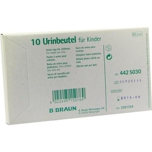 URINBTL F KDR Z ANKL STER, 10 ST, B. Braun Melsungen AG
