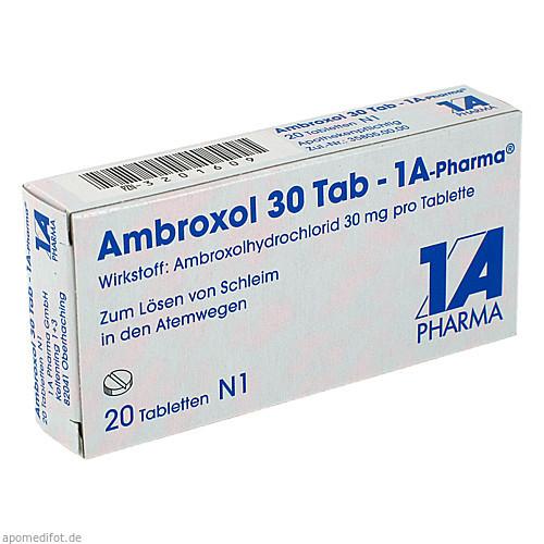 Ambroxol 30 Tab-1A Pharma, 20 ST, 1 A Pharma GmbH