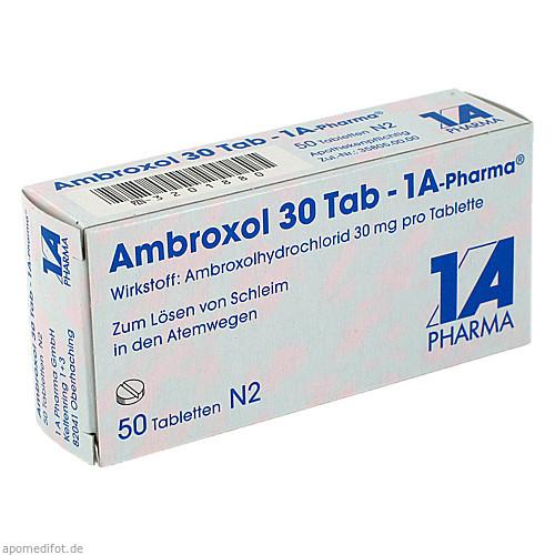 Ambroxol 30 Tab-1A Pharma, 50 ST, 1 A Pharma GmbH
