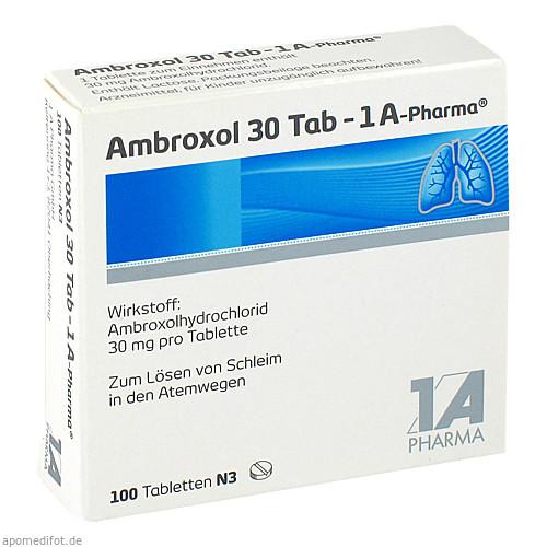 Ambroxol 30 Tab-1A Pharma, 100 ST, 1 A Pharma GmbH