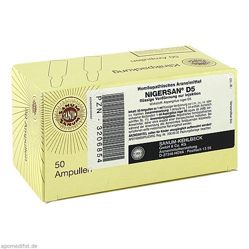 NIGERSAN D 5, 50X1 ML, Sanum-Kehlbeck GmbH & Co. KG