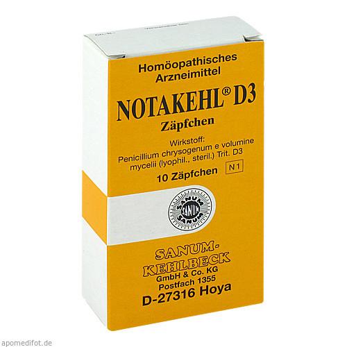NOTAKEHL D 3, 10 ST, Sanum-Kehlbeck GmbH & Co. KG