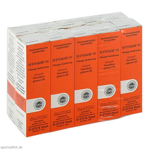 QUENTAKEHL D 5, 10X10 ML, Sanum-Kehlbeck GmbH & Co. KG