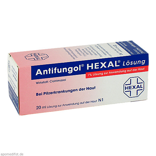 ANTIFUNGOL HEXAL Lösung, 20 ML, HEXAL AG