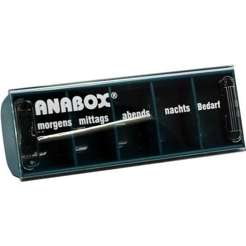 ANABOX-Tagesbox türkis, 1 ST, WEPA Apothekenbedarf GmbH & Co KG