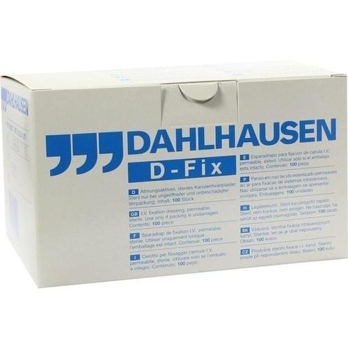 KANÜLENFIXIERPFLASTER DOT-FIX 6x9 cm, 100 ST, P.J.Dahlhausen & Co.GmbH