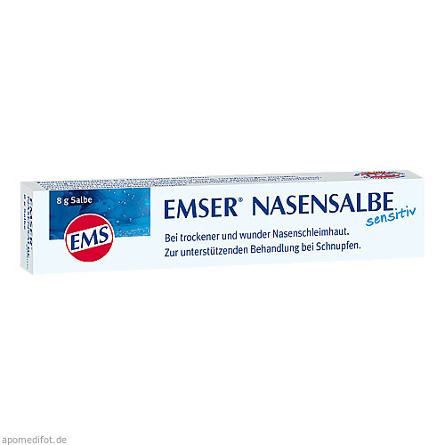 EMSER NASENSALBE SENSITIV, 8 G, Siemens & Co