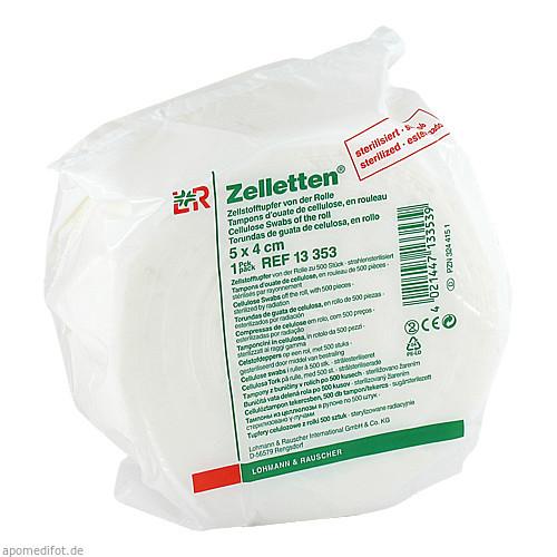 ZELLETTEN TUPFER STER 5X4, 500 ST, Lohmann & Rauscher GmbH & Co. KG