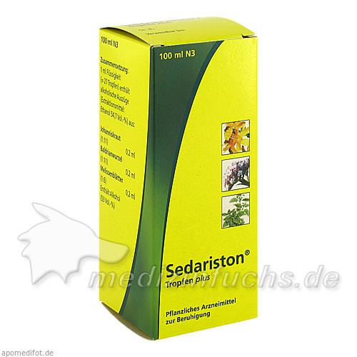 SEDARISTON Tropfen plus, 100 ML, Steiner & Co. Deutsche Arzneimittelges.