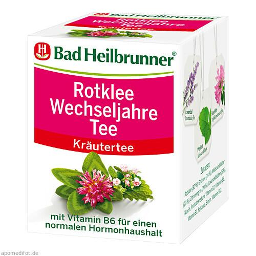 Bad Heilbrunner Rotklee Wechseljahre Tee, 8 ST, Bad Heilbrunner Naturheilmittel GmbH & Co. KG