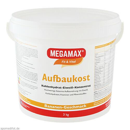 MEGAMAX Aufbaukost Banane, 3 KG, Megamax B.V.