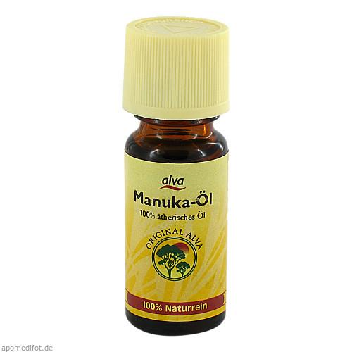 Manukaöl aus Wildwuchs, 10 ML, alva naturkosmetik GmbH & Co. KG