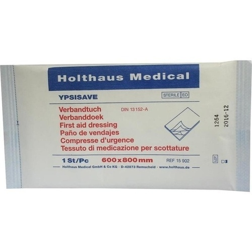 VERBANDTUCH YPSISAVE 60x80, 1 ST, Holthaus Medical GmbH & Co. KG
