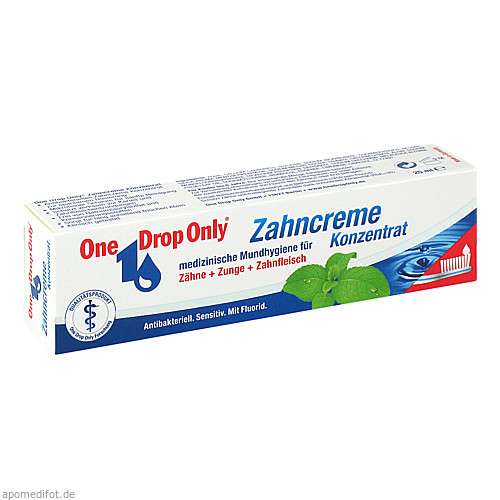 One Drop Only Zahncreme Konzentrat, 25 ML, One Drop Only Chem.-Pharm. Vertr. GmbH