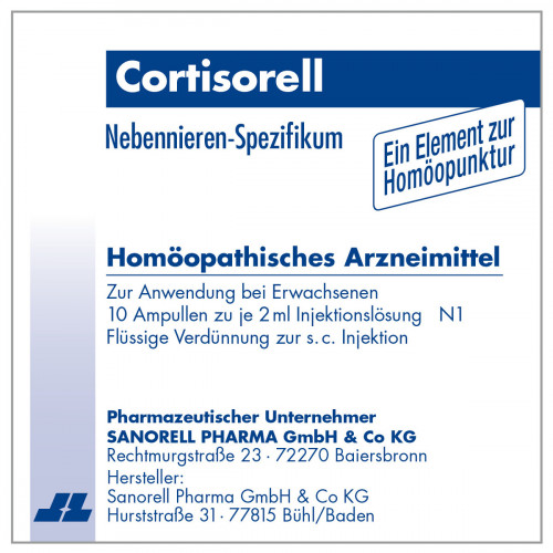 Cortisorell, 10X2 ML, sanorell pharma GmbH & Co KG