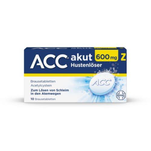 ACC akut 600 Z Hustenlöser, 10 ST, HEXAL AG