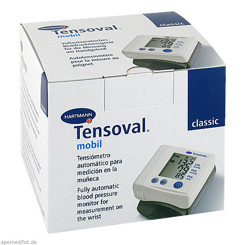 Tensoval mobil classic Handgelenk Blutdruckuhr, 1 ST, Paul Hartmann AG