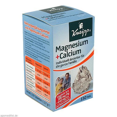 KNEIPP MAGNESIUM+CALCIUM, 150 ST, Kneipp GmbH