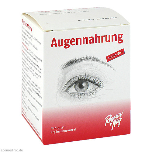 AUGENNAHRUNG, 60 ST, Regena Ney Cosmetic Dr. Theurer GmbH & Co. KG