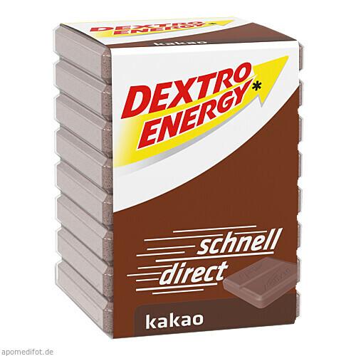 DEXTRO ENERGY Kakao, 46 G, Kyberg Pharma Vertriebs GmbH