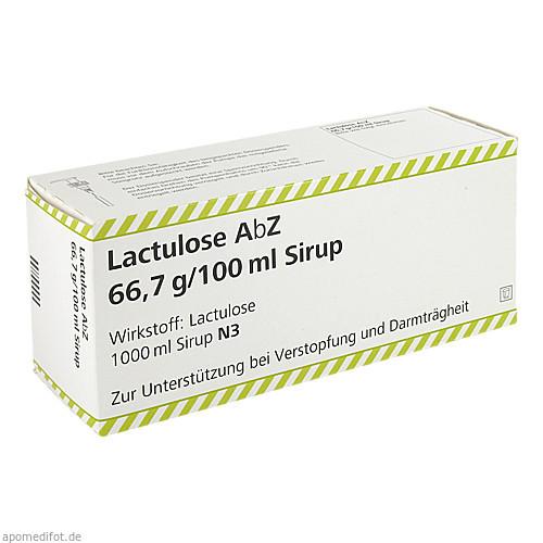 Lactulose Abz 66.7g/100ml, 1000 ML, Abz-Pharma GmbH