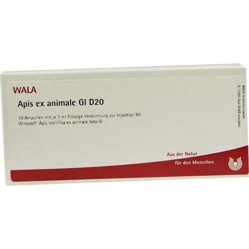 APIS EX ANIMALE GL D20, 10X1 ML, Wala Heilmittel GmbH