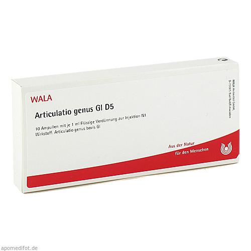 ARTICULATIO GENUS GL D 5, 10X1 ML, Wala Heilmittel GmbH