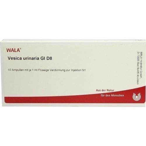 VESICA URINARIA GL D 8, 10X1 ML, Wala Heilmittel GmbH