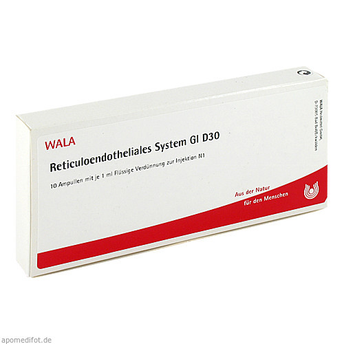 RETICULOENDOTHE SYS GL D30, 10X1 ML, Wala Heilmittel GmbH