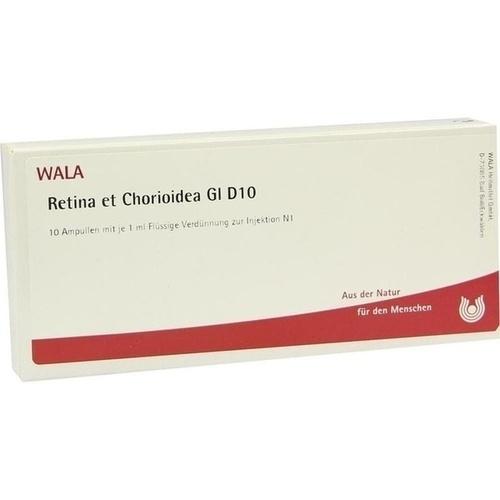 RETINA ET CHORIOIDE GL D10, 10X1 ML, Wala Heilmittel GmbH