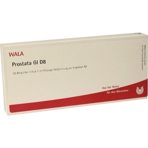PROSTATA GL D 8, 10X1 ML, Wala Heilmittel GmbH