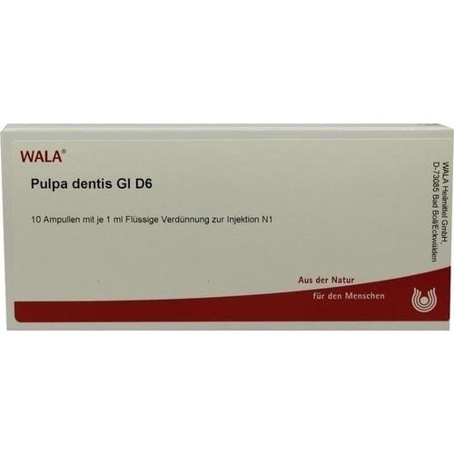 PULPA DENTIS GL D 6, 10X1 ML, Wala Heilmittel GmbH