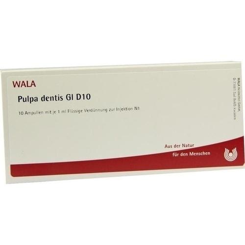 PULPA DENTIS GL D10, 10X1 ML, Wala Heilmittel GmbH
