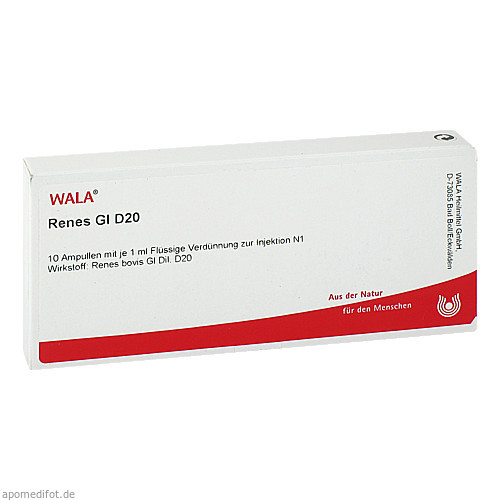 RENES GL D20, 10X1 ML, Wala Heilmittel GmbH
