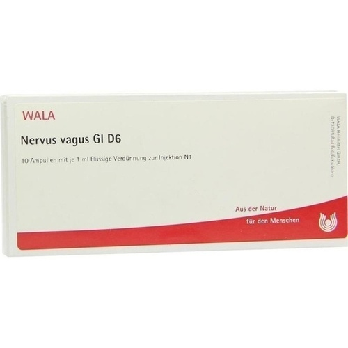NERVUS VAGUS GL D 6, 10X1 ML, Wala Heilmittel GmbH