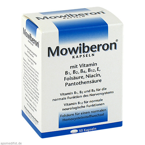Mowiberon, 50 ST, Rodisma-Med Pharma GmbH