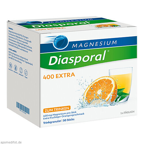 Magnesium-Diasporal 400 Extra (Trinkgranulat), 50 ST, Protina Pharmazeutische GmbH