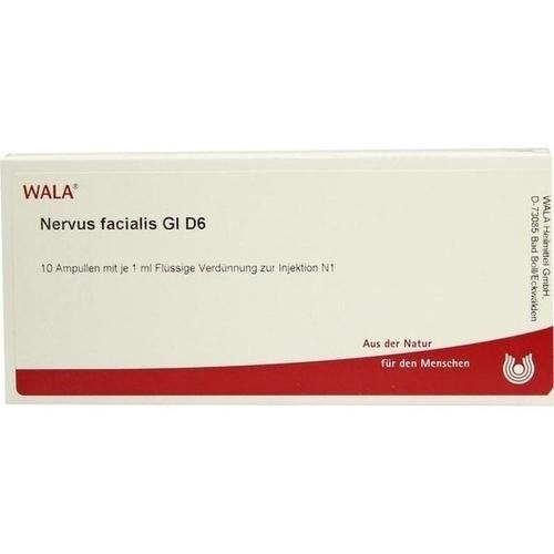 NERVUS FACIALIS GL D 6, 10X1 ML, Wala Heilmittel GmbH
